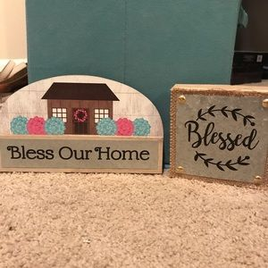Bless this home and blessed home decor